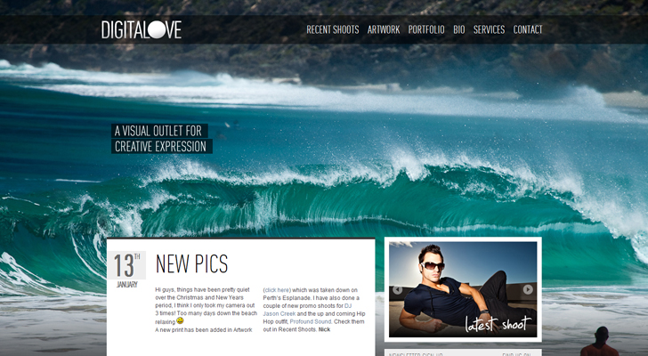 Full Screen Website Background