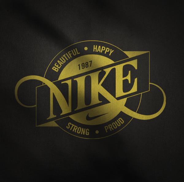 20 Calligraphy Print T-Shirts Design For Nike | EntertainmentMesh