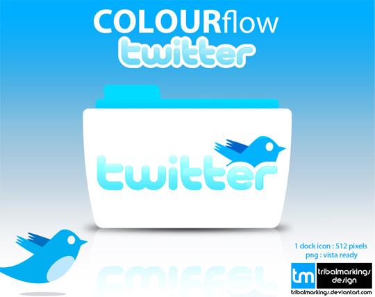 19 Twitter Icon Set