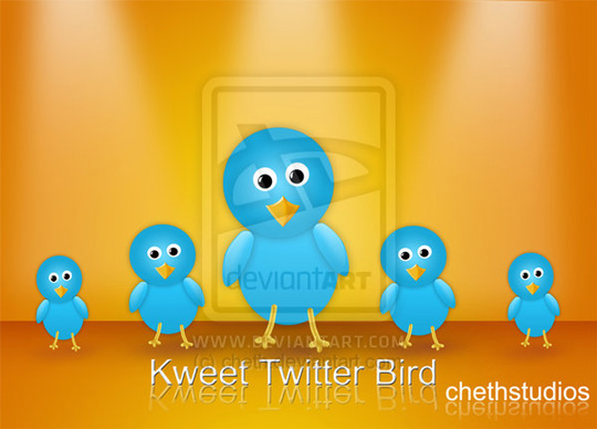 20 Twitter Icon Set