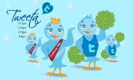 29 Twitter Icon Set