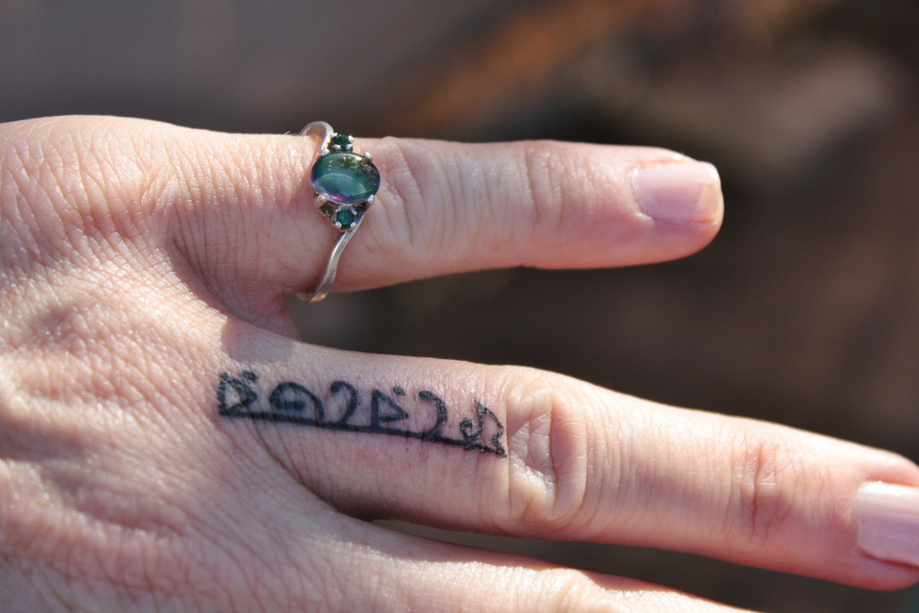 Beautiful Wedding Ring Tattoos