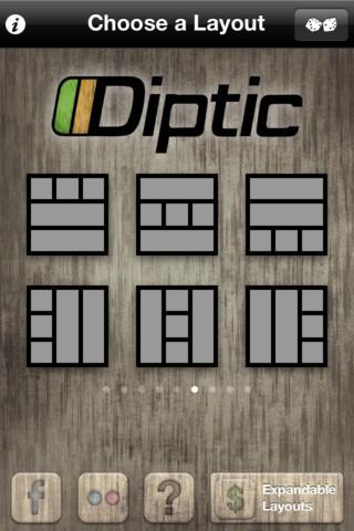 Diptic Layout
