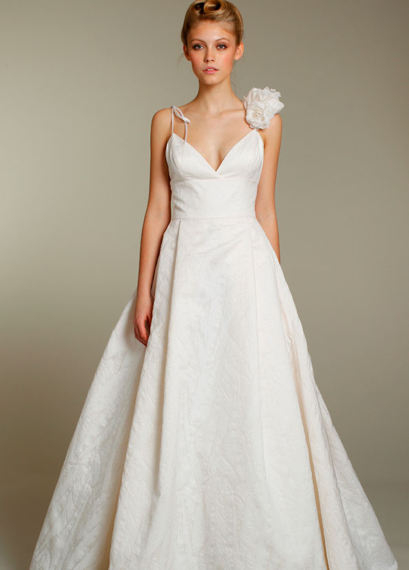 Beautiful bridal gowns wedding dresses by tara keely for Spaghetti strap wedding dress with pockets