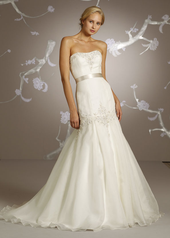 Beautiful bridal gowns wedding dresses by tara keely for Silk organza wedding dress