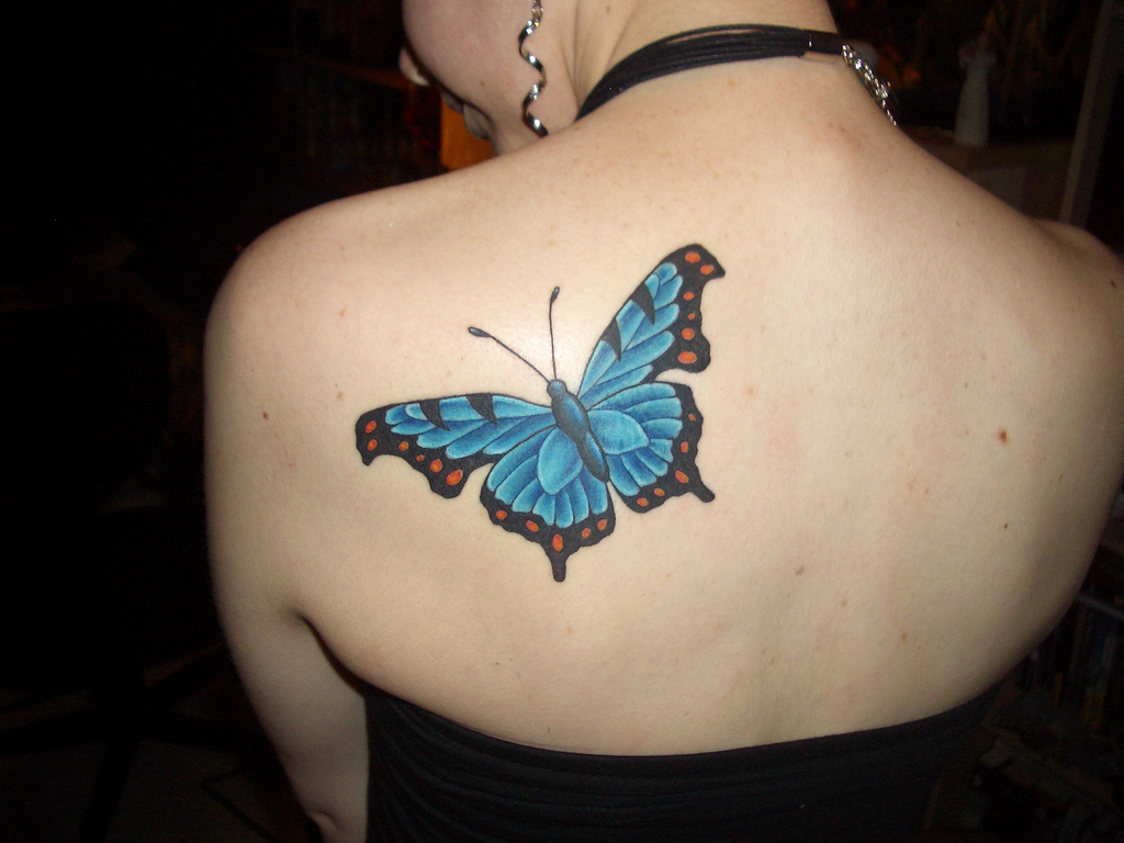 16 Butterfly Tattoo