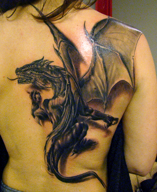 3 dragon tattoo