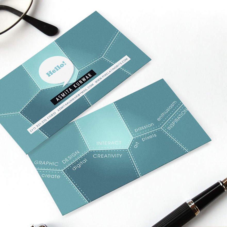 37 creative business card design