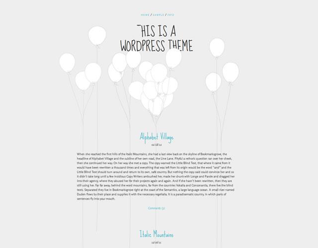 5 WordPress Minimalist Theme | EntertainmentMesh