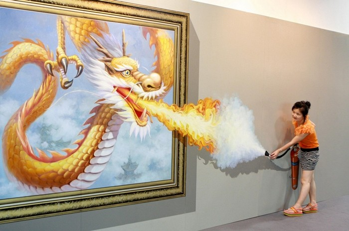 D Magic Art Exhibition China : D magic art special painting exhibition in china