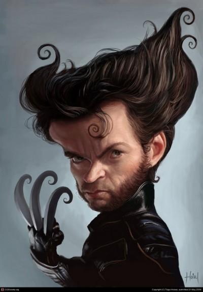 caricature-Hugh-Jackman