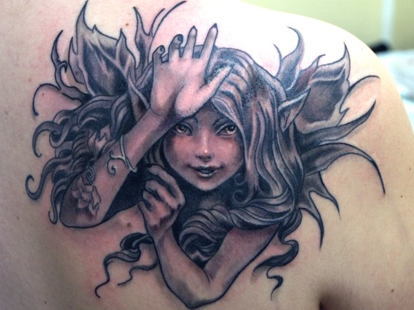 1 fairy tattoo