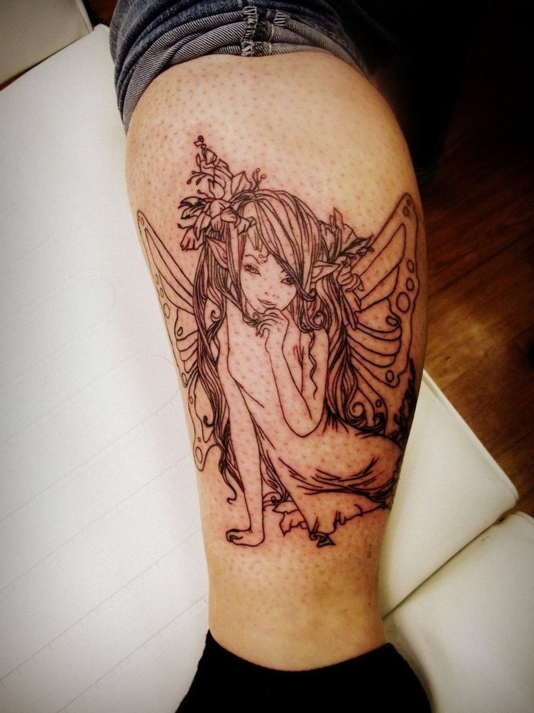 Fairy Tattoos Designs 32