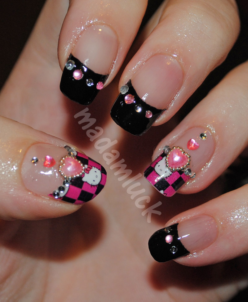 The Exciting Hello kitty nails for kids Pics