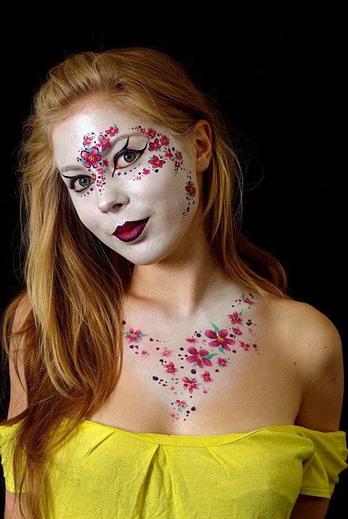 Welsh Face body painting