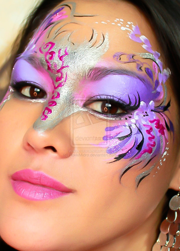 Disin Makeup: 55+ Examples Of Cool & Crazy Body Painting Art Designs