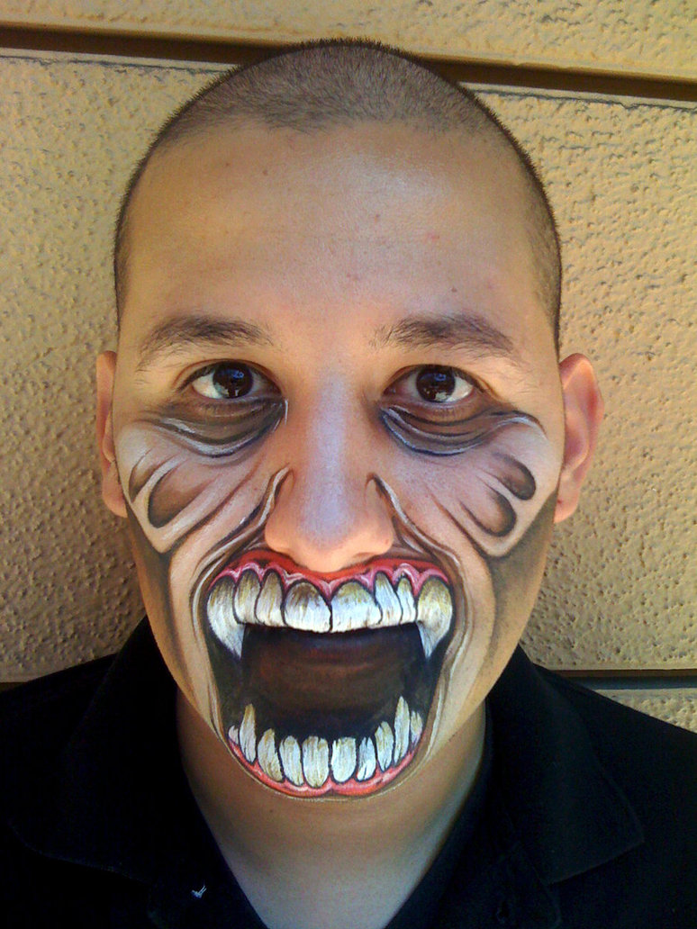 55+ Examples of Cool &amp Crazy Body Painting Art Designs - Amazing Halloween Makeup
