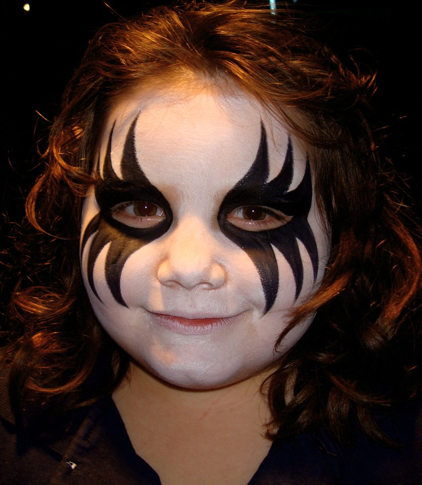 How To Make A Vampire Face Painting