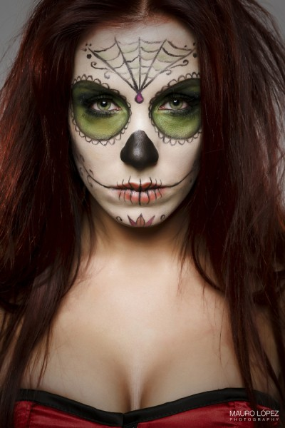 Day Of The Dead Face Paint Entertainmentmesh