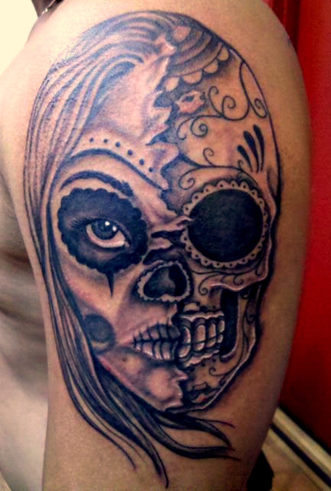60 day of the dead tattoos you will want to get asap - 600×889