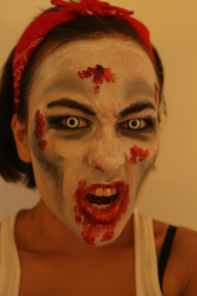halloween zombie makeup entertainmentmesh