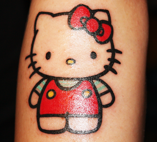 13 hello kitty tattoo design