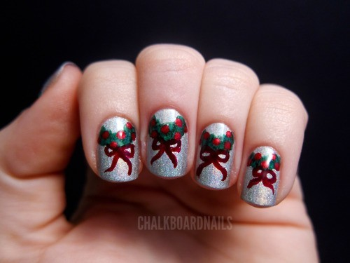Snow nail art designs for winter