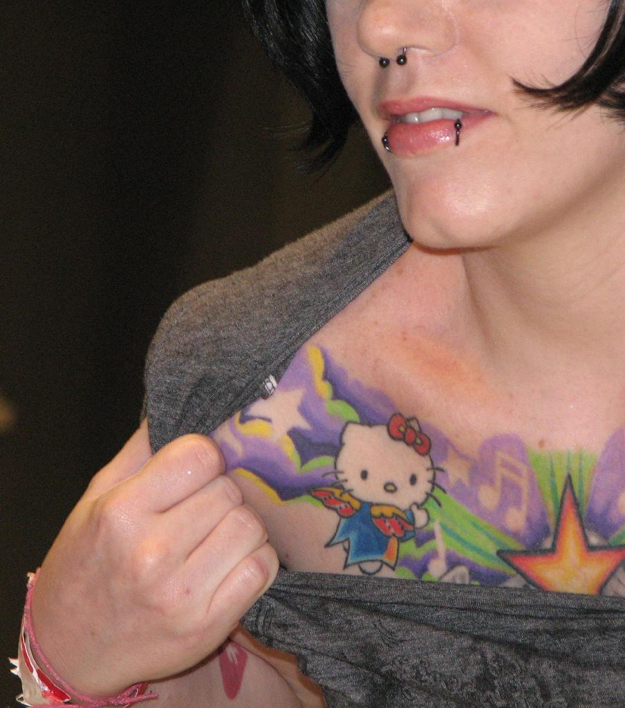 19 Hello Kitty Tattoo Design