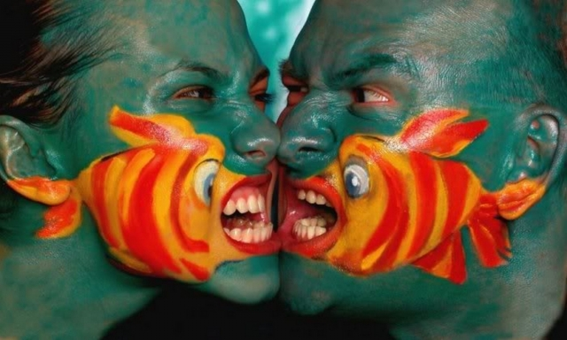 2 body painting art