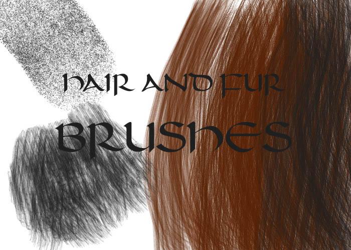 Как создать текстуру волос в фотошопе