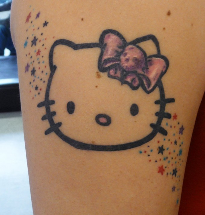 Image result for hello kitty tattoos