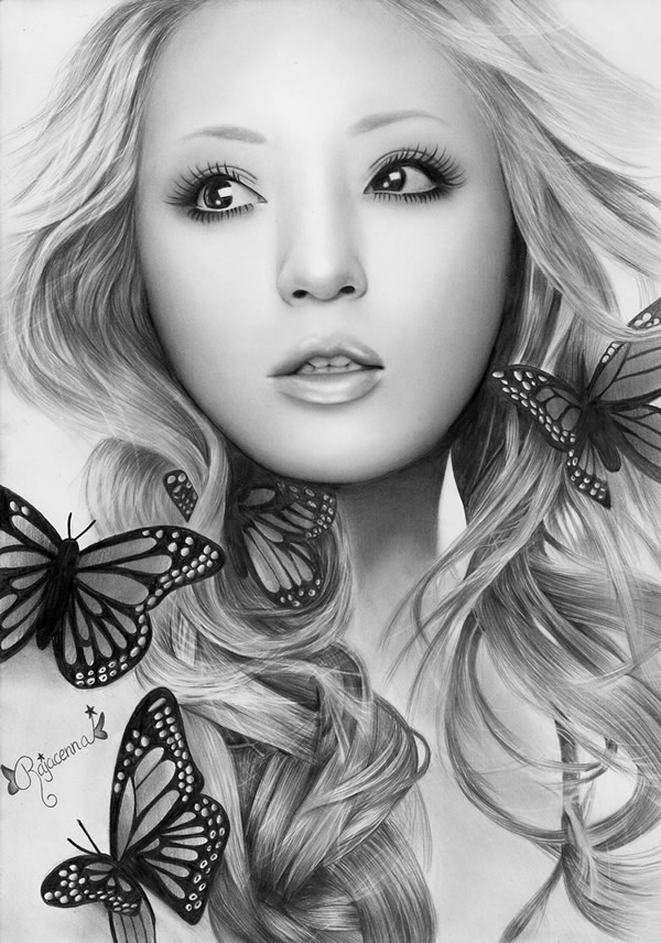 BUTTERFLY BEAUTY small by Rajacenna