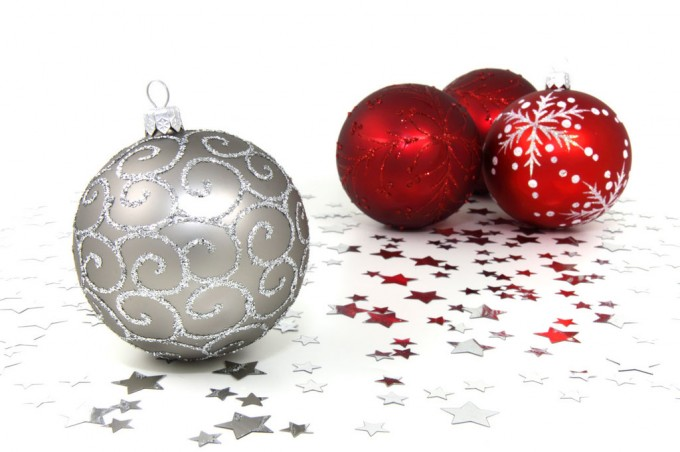 Amazoncom silver ornament tree
