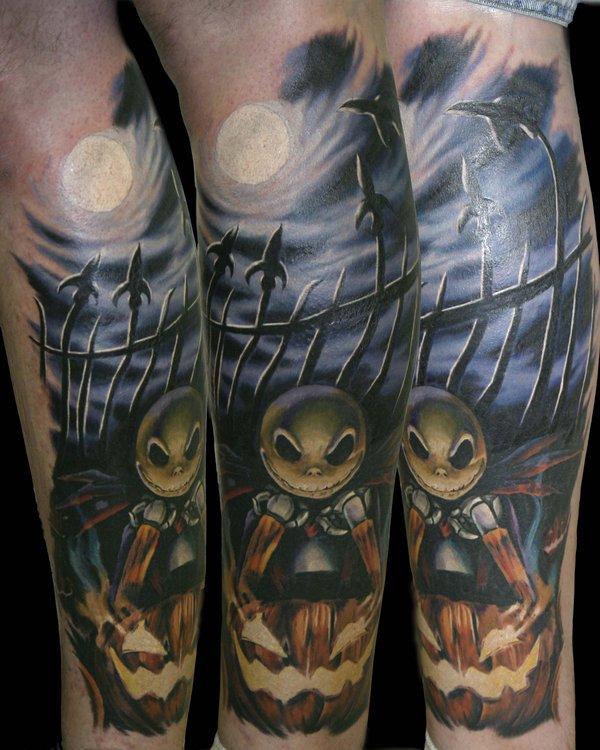 35 Nightmare Before Christmas Tattoo Design