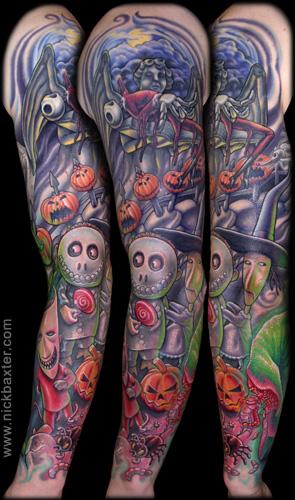 35+ Nightmare Before Christmas Tattoo Design