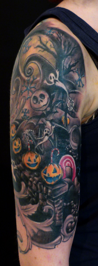 35 Nightmare Before Christmas Tattoo Design | EntertainmentMesh