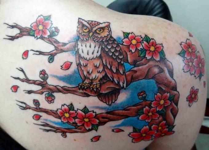 Owl Tattoo Design