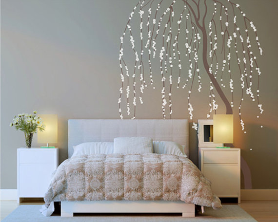 Weeping Willow Tree Wall Sticker