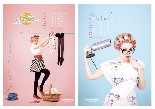 - calendar 2013 for electronic's Time -