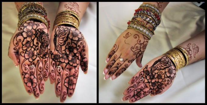 Traditional Henna Tattoo: Henna Mehndi Designs For Hands