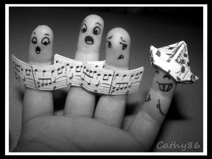 Finger Art: The 'Solo'