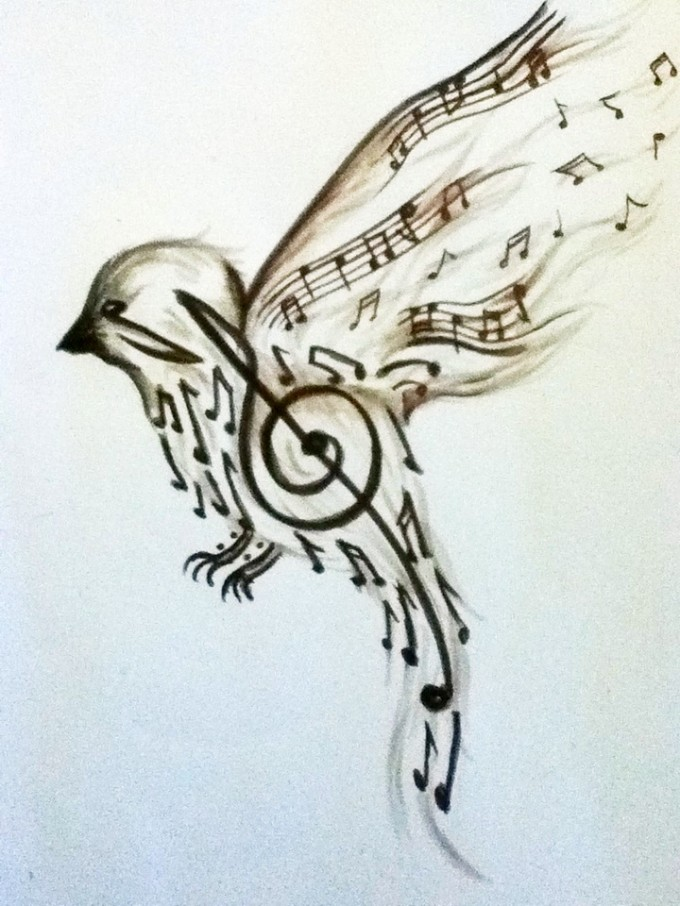 55 love for music tattoo designs