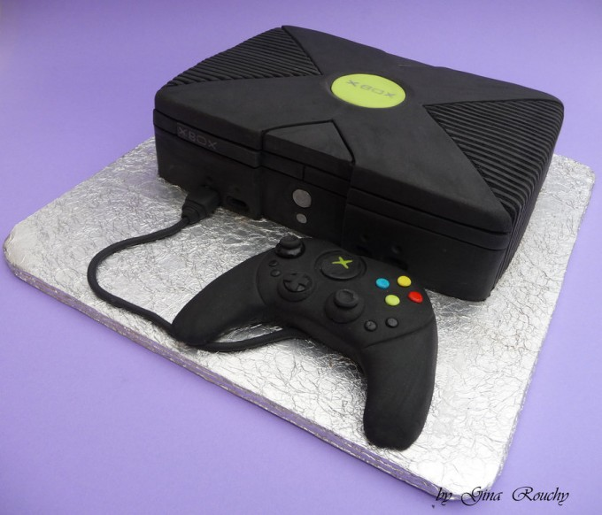 X-Box Cake
