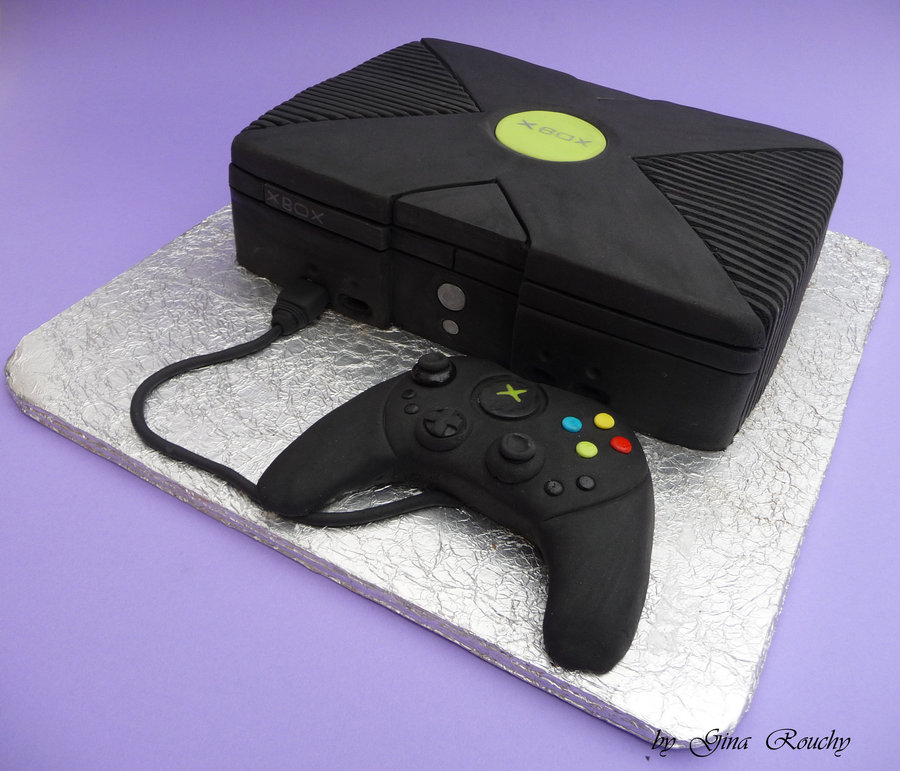 Xbox Game Cake