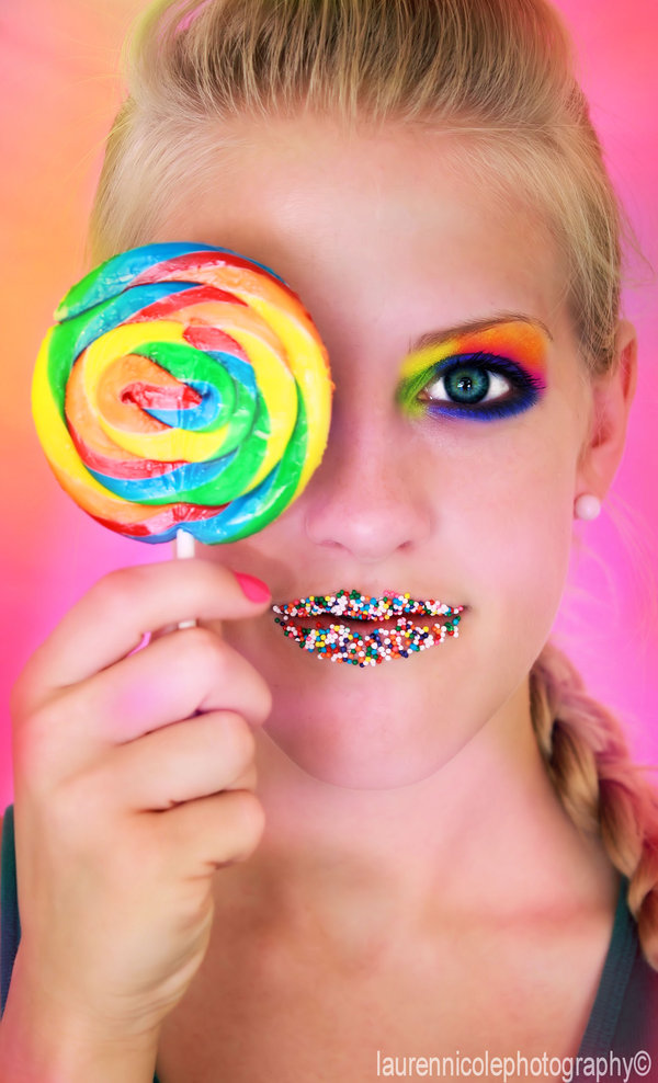 Sweet Candy Girl