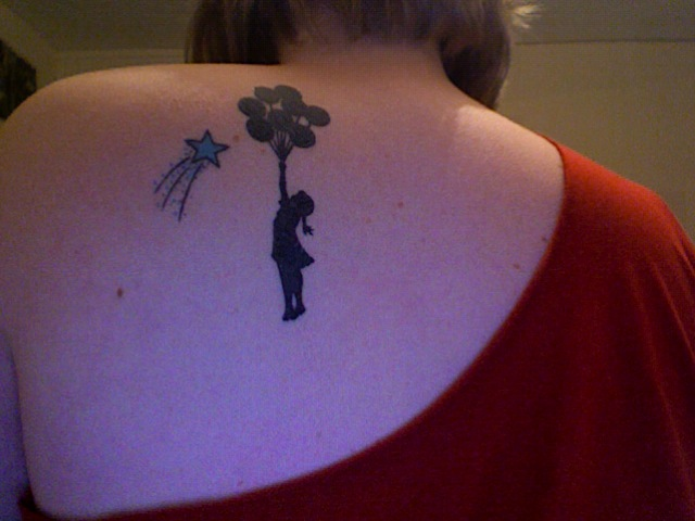 New Tattoo - Banksy