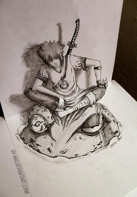 ~3D Sketch - YONDAIME HOKAGE ~