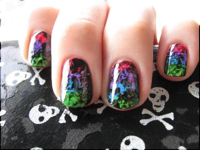 Rainbow Grunge