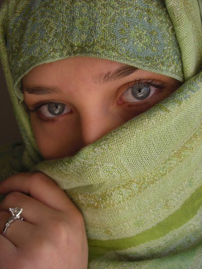 Beauty Behind The Veil 35 Eye Catching Girl Pictures