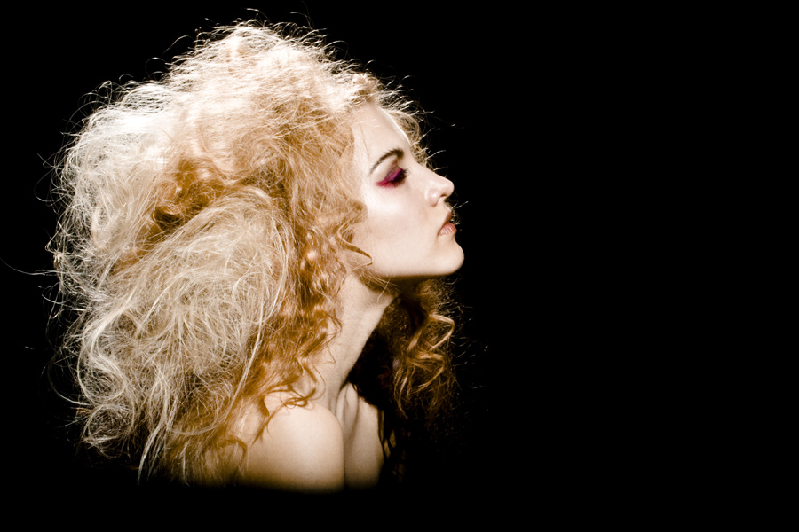 Fantasy Avant Garde Curly Hairstyle